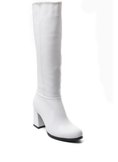 Sapin Çizme Beyaz